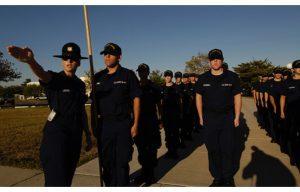 Coast Guard recruits