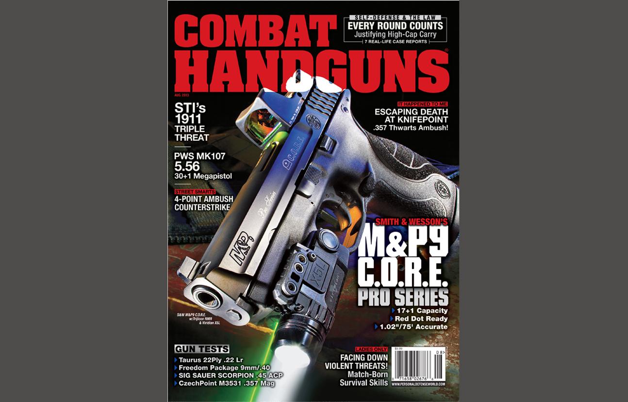 Combat Handguns August 2013
