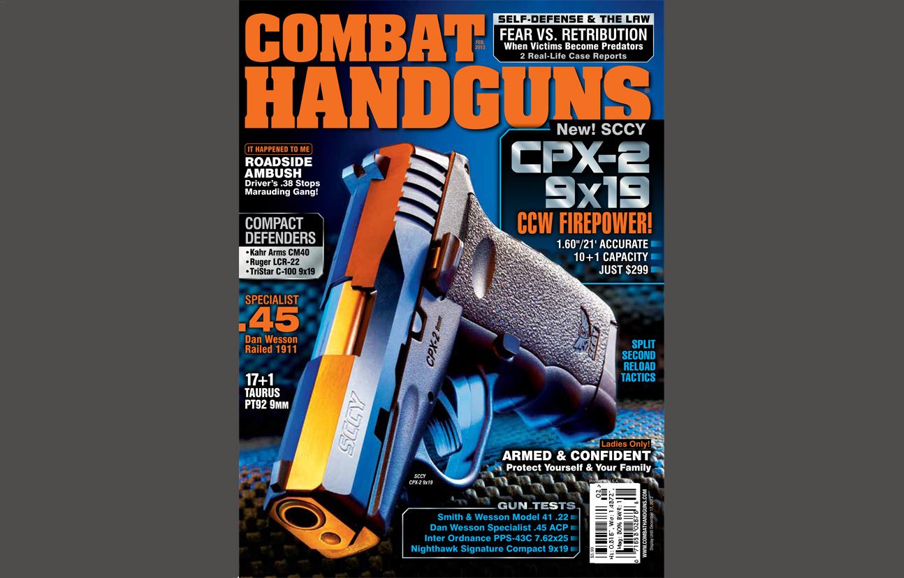 Combat Handguns February 2013
