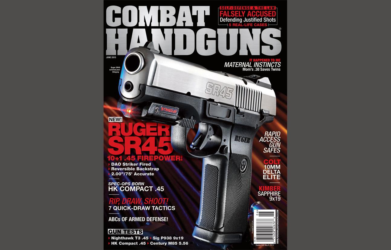 Combat Handguns June 2013