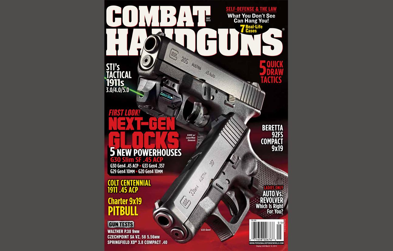 Combat Handguns May 2013