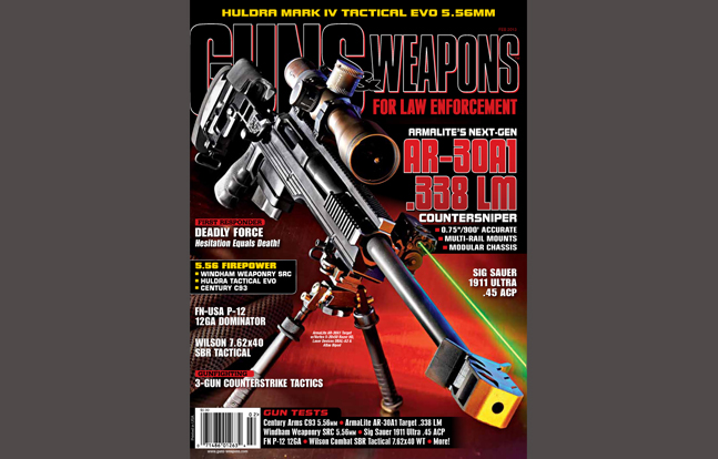 Guns & Weapons for Law Enforcement February 2013