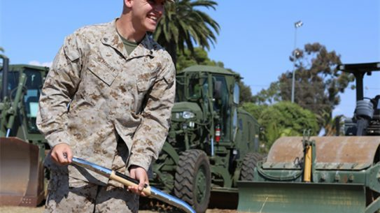 The new Marines complex at Yorktown Naval Weapons Station will be commemorated at a groundbreaking ceremony on Wednesday.