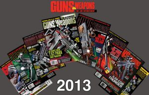 GUNS & WEAPONS FOR LAW ENFORCEMENT 2013 Cover Roundup