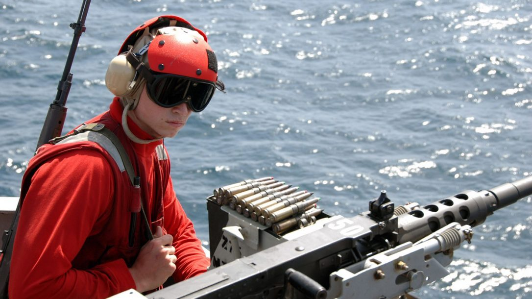 Happy New Year from Tactical-Life.com - The U.S. Navy standing guard at sea.