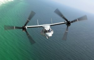 Japanese Defense Ministry Plans to Build Osprey Bases