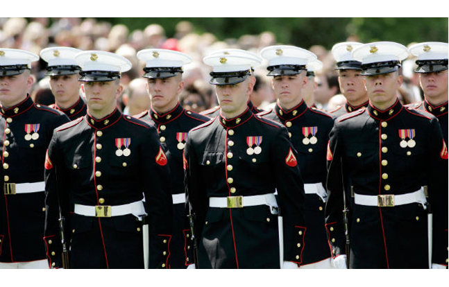 Beginning in May 2017, the male service and dress frame cap will be the universal cap for both male and female marines.