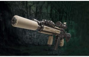 Manta Suppressor Cover w/ Manta Rails