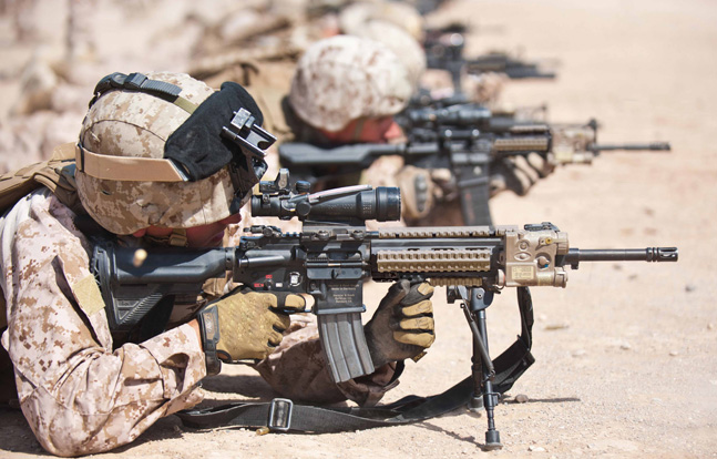 Manta has been awarded a military contract to produce extreme rail protector components for the U.S. Marine Corps' new Infantry Automatic Rifle (IAR).
