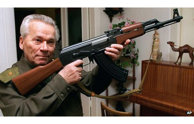 Mikhail Kalashnikov, Dead at 94 (AP Photo)