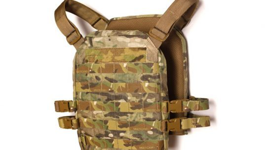 Mission Spec has announced the release of their new light weight plate carrier and shoulder saver.
