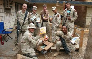 A new organization called SoldierSend uses a military gift registry to make it easier to send military care packages to soldiers stationed abroad.