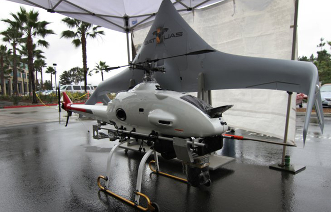 Northrop Grumman Showcases Smaller Drones