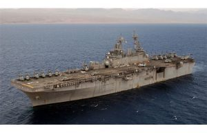The Pentagon will use a US ship to destroy a Syrian chemical weapons stockpile.