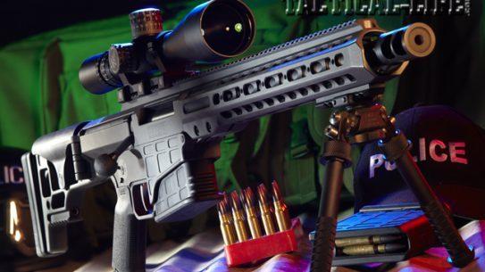 The Barrett MRAD .308 is a SOCOM-born tactical dominator bred for extreme sub-MOA precision!
