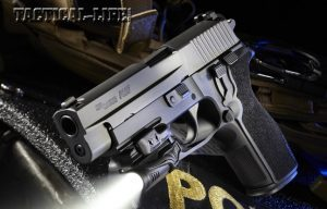 The Sig Sauer P227 is a duty-ready big bore that delivers top-notch ergonomics, reliability and firepower!