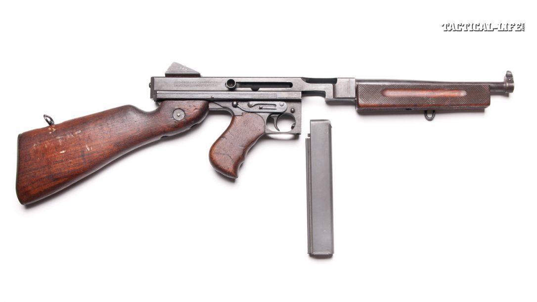 Preview- Top 10 World War II Firearms | Gun Review-Thompson SMG M1