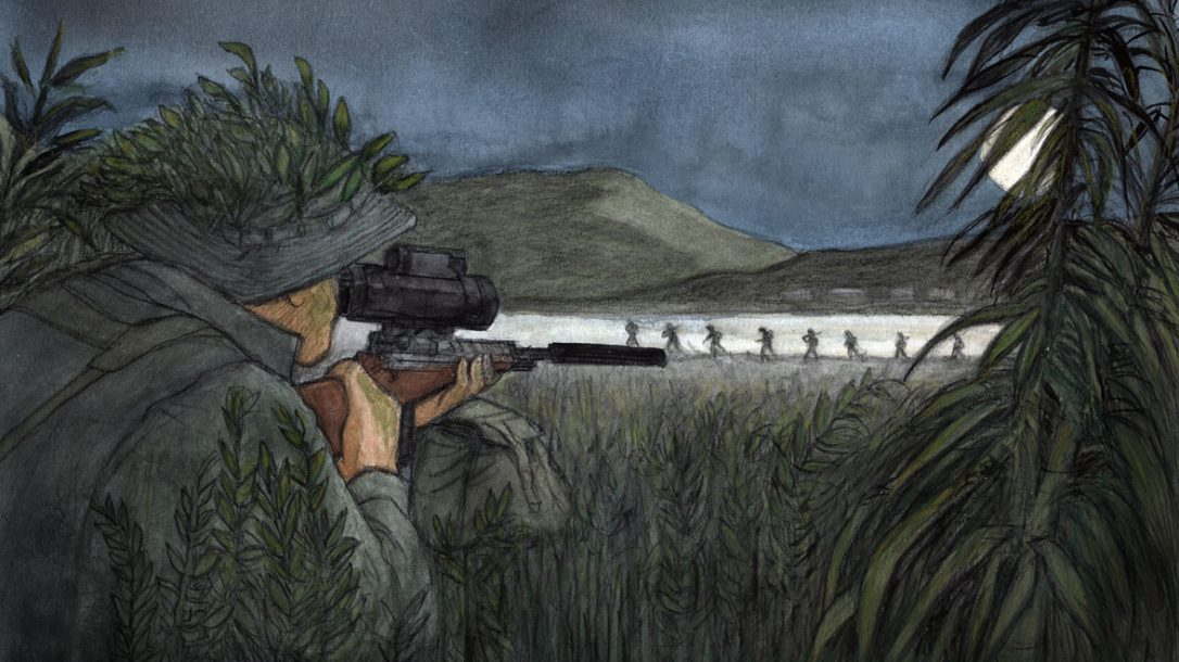 Preview- Under Fire - Vietnam Combat Sniper - Night mission
