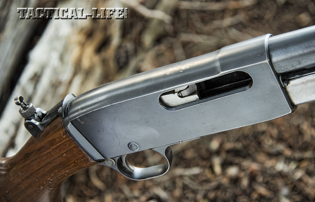 Even though the all-steel-and-walnut rifle weighed almost 7.5 pounds, its sleek design made it easy to carry in the woods. The clean receiver provided a natural spot for the hand while toting it.