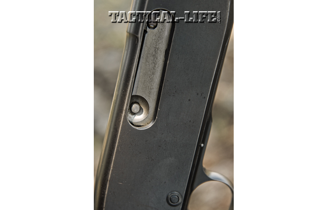 Remington 141 Gamemaster bolt and bolt release.