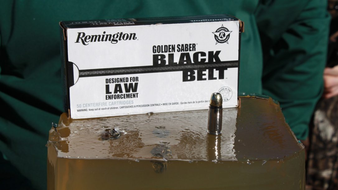 Remington Golden Saber Black Belt