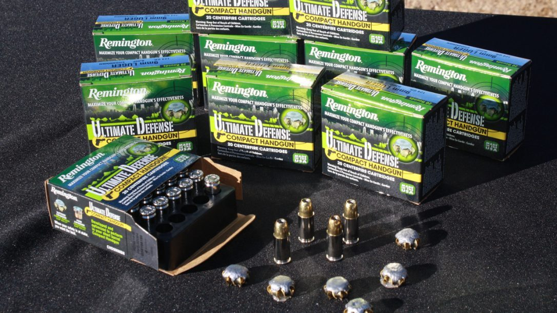 Remington Ultimate Defense Ammo