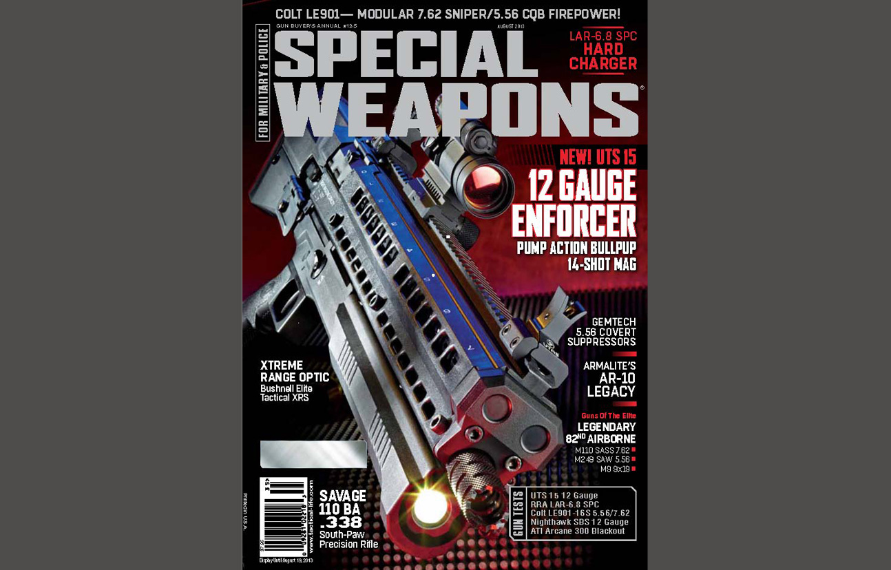 SPECIAL WEAPONS FOR MILITARY & POLICE - AUGUST 2013