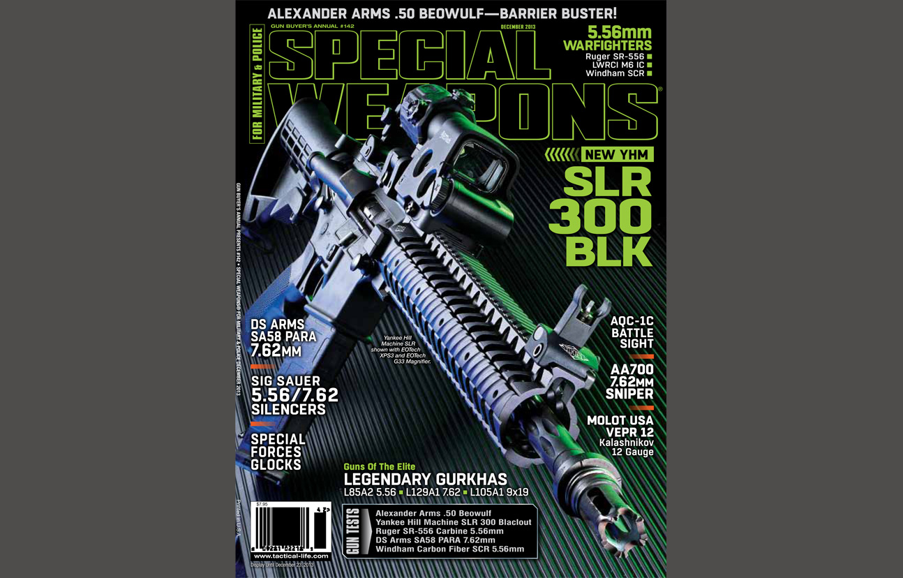 SPECIAL WEAPONS FOR MILITARY & POLICE - DECEMBER 2013