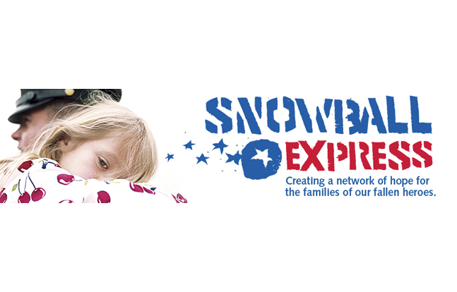 On Thursday morning, nearly 1,800 children and spouses of fallen military traveled to Dallas/Fort Worth for the eighth annual Snowball Express trip.