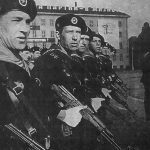 Soviet Troops armed with Kalashnikov rifles (Maxim Popenker photo)