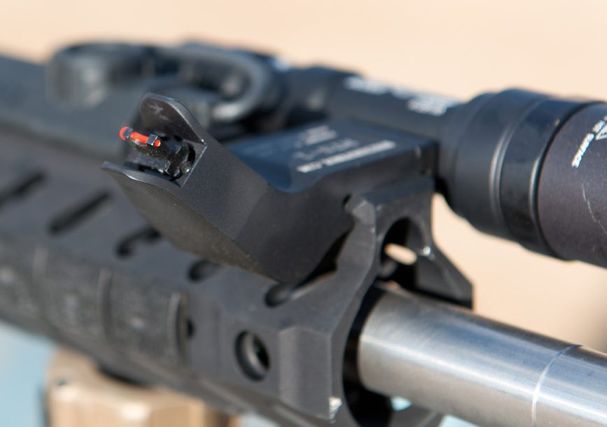 SureFire at the Range | New Products for 2014 - Dueck Defense Front Sight