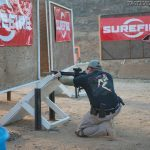SureFire at the Range | New Products for 2014 - Jeremy from kneeling