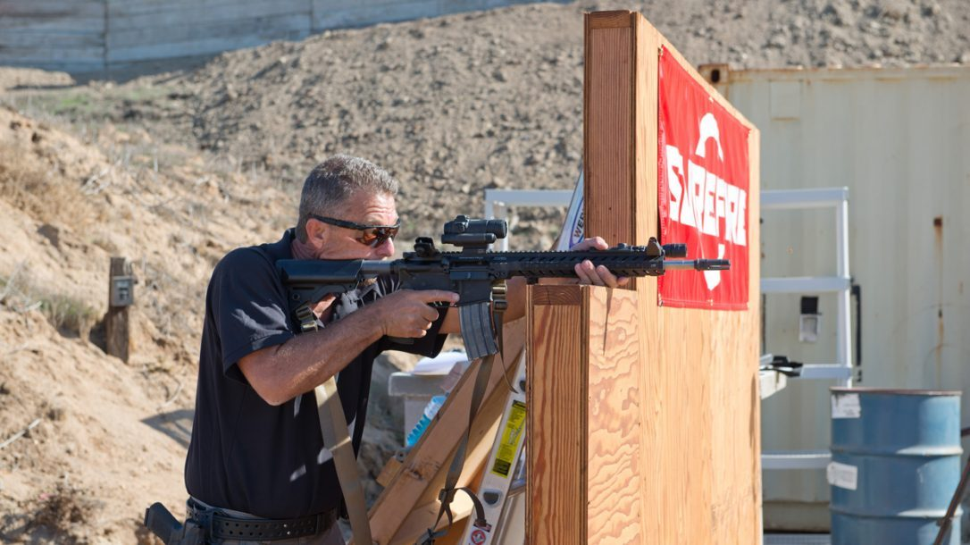 SureFire at the Range | New Products for 2014 - Mike Voight from the barricade