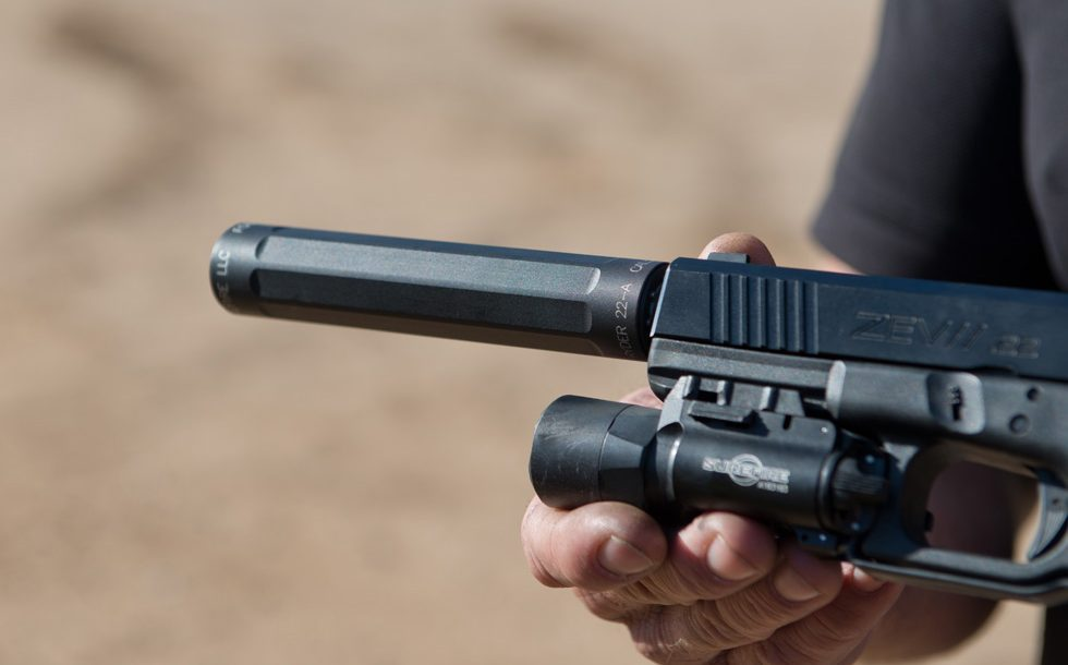 SureFire at the Range | New Products for 2014 - SureFire Ryder 22-A Close-up