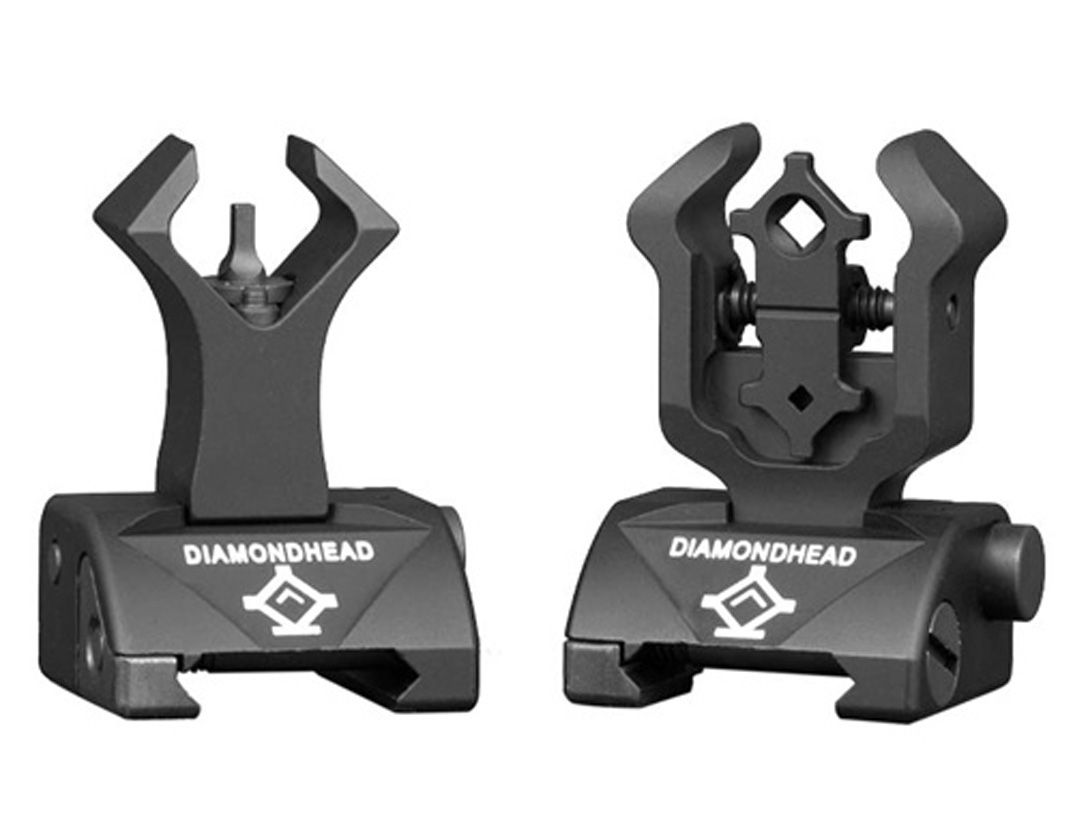 Top 10 Black Guns AR Accessories - Diamondhead Integrated Sighting System
