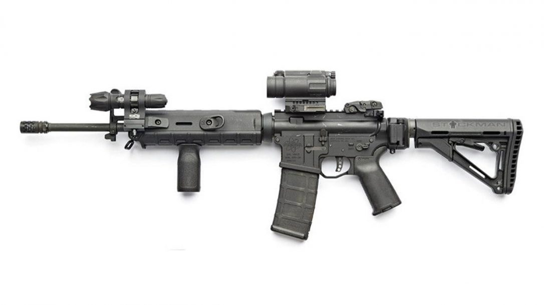 Top 10 Black Guns AR Accessories- Law Tactical Folding Stock Adapter, Extended