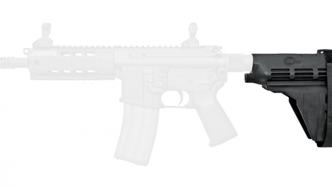 Top 10 Black Guns AR Accessories - Sig Stabilizing Brace