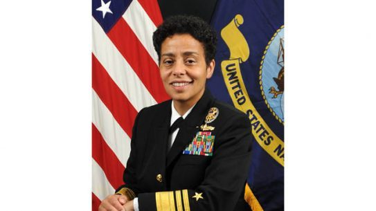 Navy Vice Adm. Michelle Howard has been nominated for rank of admiral, which makes her the first woman in the history of the Navy to achieve a fourth star.