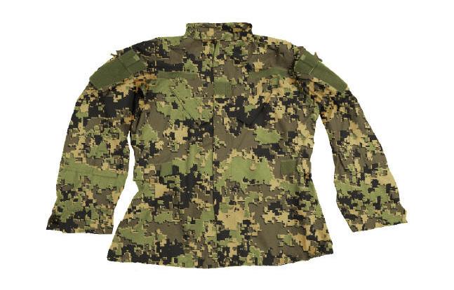 US4CES Camouflage Uniforms