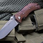 Wilson Combat Extreme Lite Carry, Starburst Pattern, Cocobolo