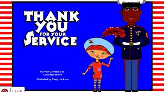 An Arkansas woman has written a children's book honoring active duty military and veterans from the five branches of service.