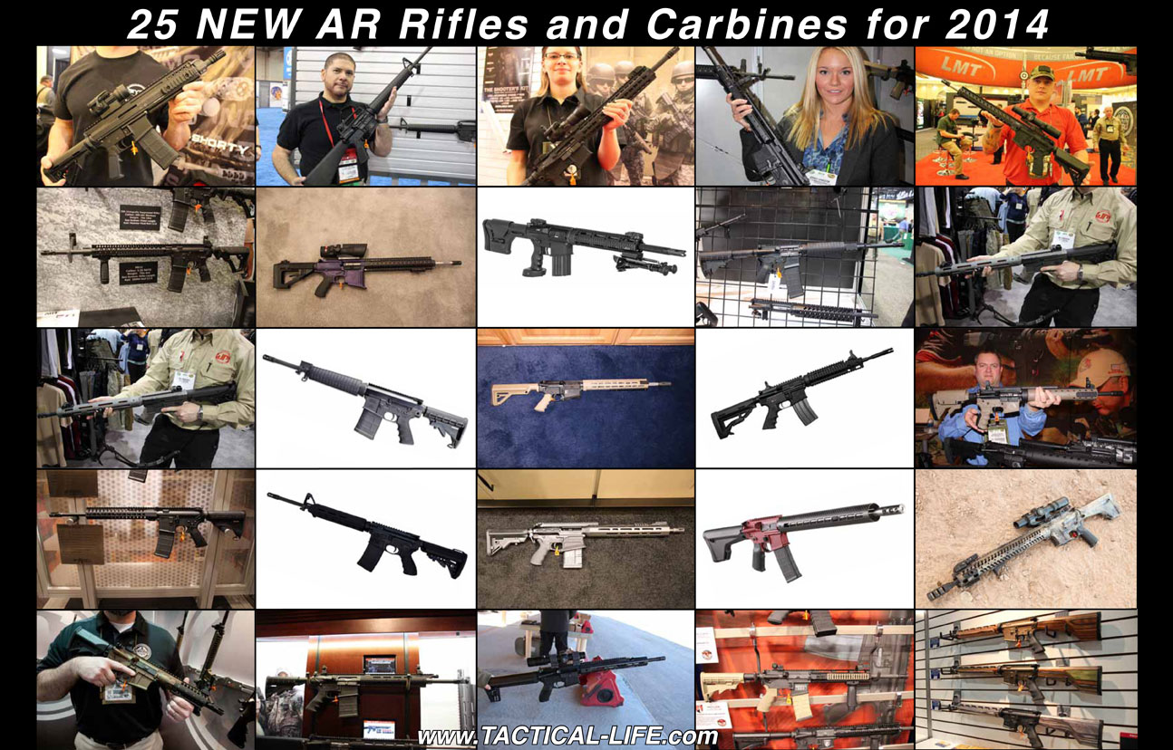 25 New AR Rifles and Carbines for 2014