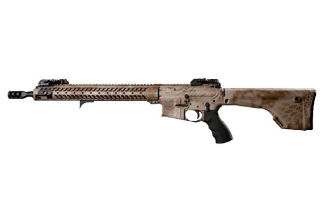 Top 25 AR Rifles For 2014 | Adams Arms COR Ultra Lite in Kryptek Nomad