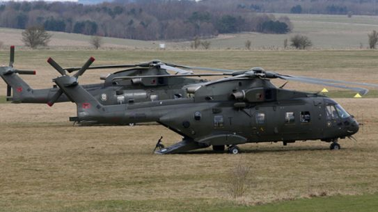 AgustaWestland Receives $750 Million for UK Helicopter Program Upgrades