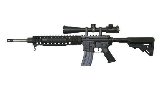 ArmaLite M-15TBN 5.56mm Rifle - left side