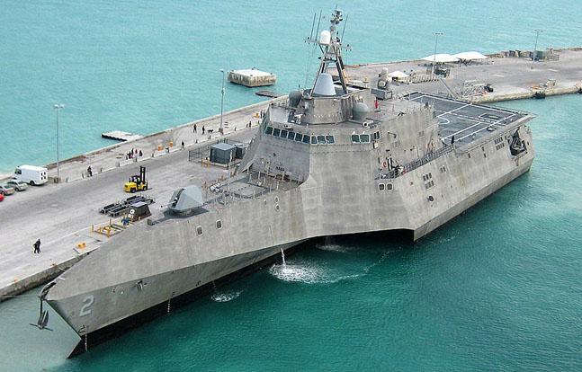 Austal USA Launches Future USS Jackson, LCS 6