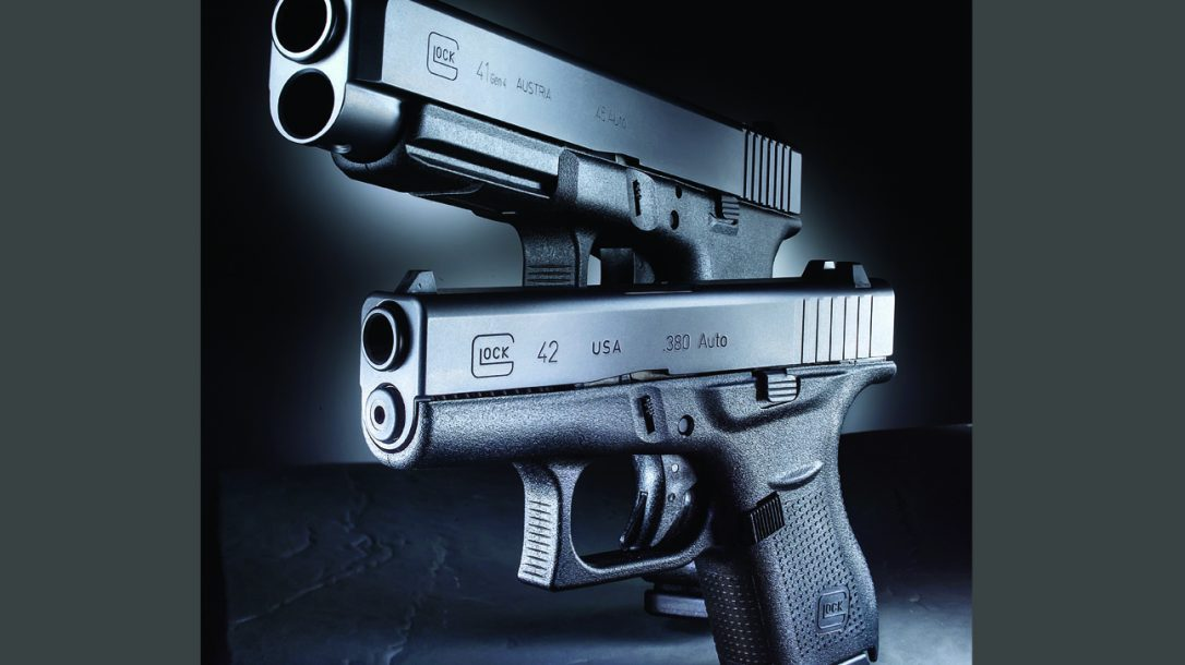 Big Bore Glock 41 Gen4 and Glock 42 for concealed carry