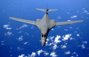 The U.S. Air Force has awarded Boeing a five-year contract worth up to $750 million for continued work on their fleet of B-1 bombers.