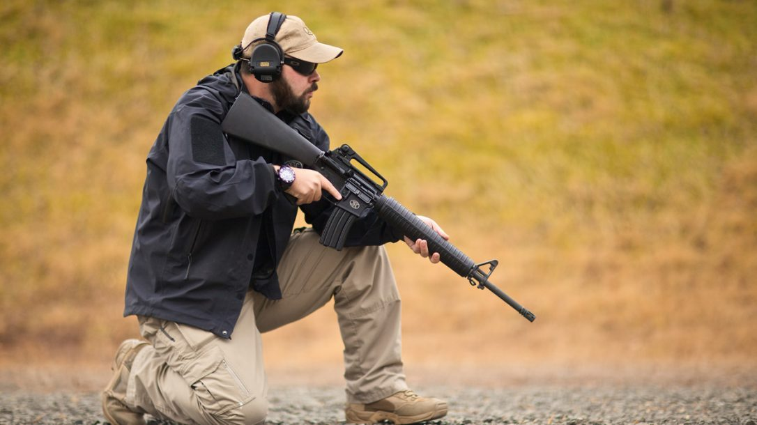 FN-15 Rifle Kneeling