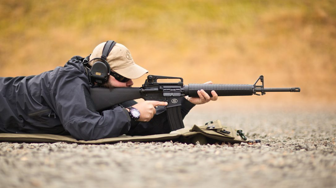 FN-15 Rifle Prone